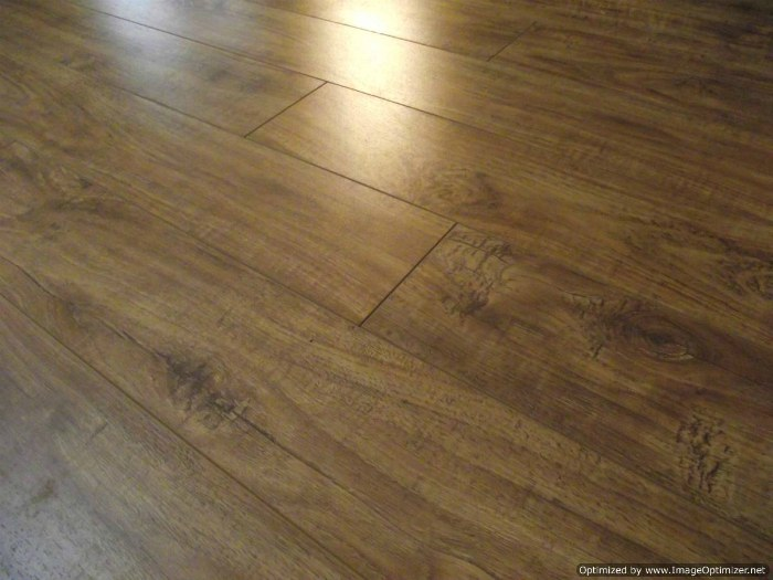 Toklo Laminate Flooring With Beveled Edge