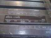 Allen Roth Swiftlock laminate box information