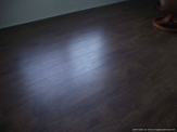 Bad Laminate flooring Quarter round