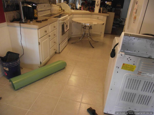 Laminate flooring in kitchen over ceramic tile installation - Install Laminate Flooring Over Ceramic Tile