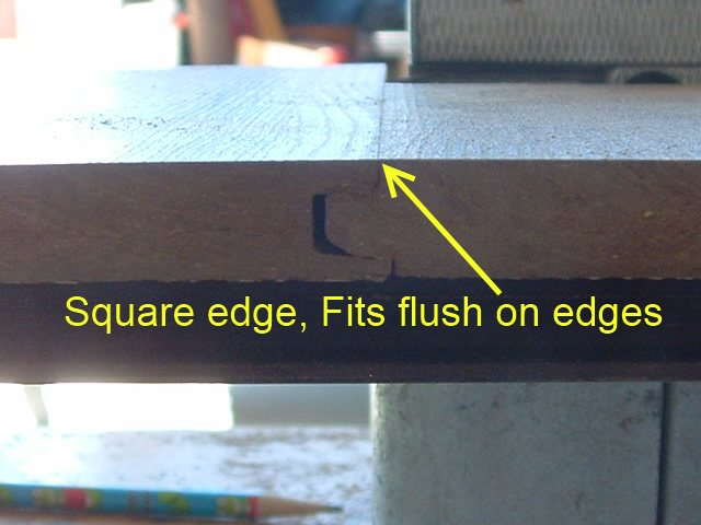 Square edge laminate description for Square laminate floor tiles