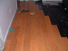 Quick step Eligna laminate flooring single board design