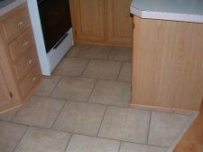 Quick step Quadra laminate tile, ceramic look