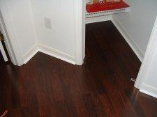 Lowes Mohawk Georgetown ebony plank dark wood is a beautiful laminate flooring