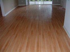 Pergo Presto laminate, living room before photo for installing the laminate.